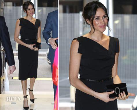 Who Wore It Better Black Halo Jackie O Dress by Meghan Markle In Black Halo S Popular Jackie O Dress