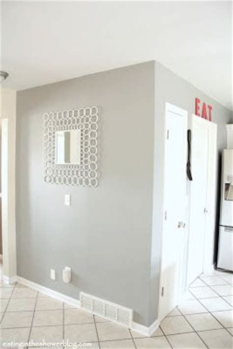platinum gray benjamin moore from oh no ing to glowing kitchen remodel