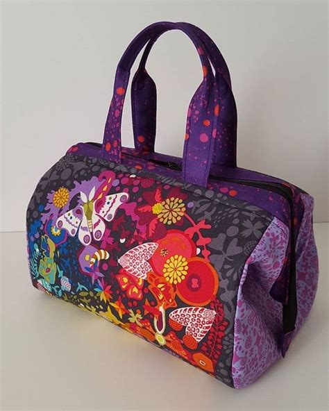 pattern for fabric lunch bag another luxie lunch bag completed i love this pattern and