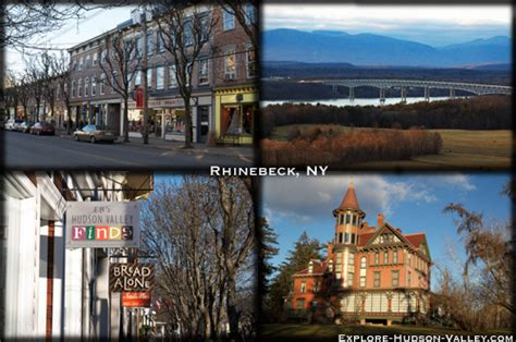Small American Towns by Rhinebeck New York An All American Town