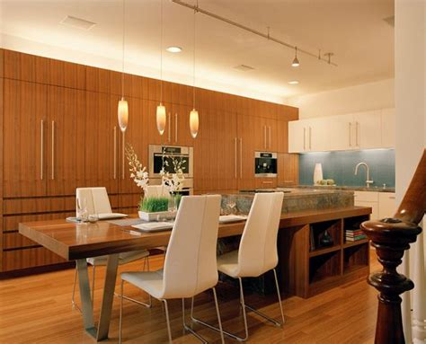 kitchen island table design ideas 30 kitchen islands with tables a simple but clever combo