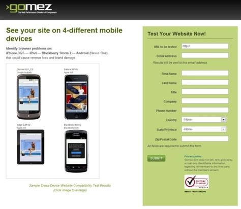 mobile browser test mobile compatibility how to test a website for mobile