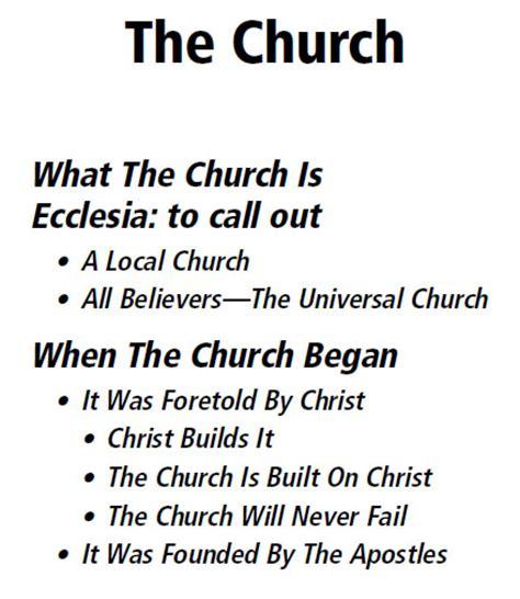 the translation of the greek word ekklesia as church pilgrim s progress lesson