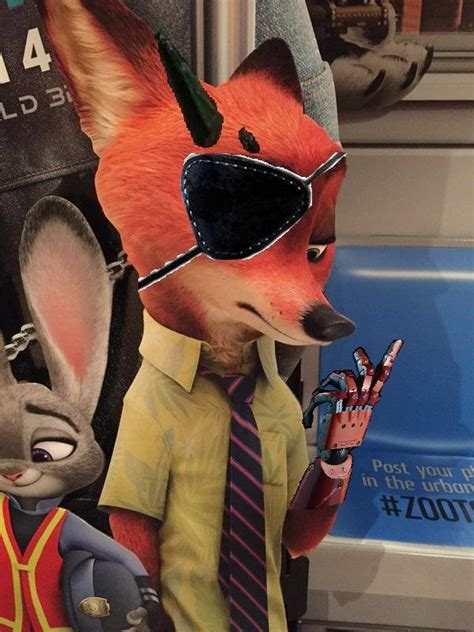 D Select 001 Zootopia punished nick wilde zootopia your meme