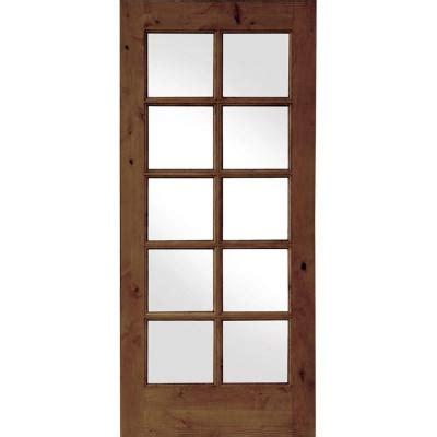 30 X 80 Interior Door Opening by Krosswood Doors 30 In X 80 In Knotty Alder 10