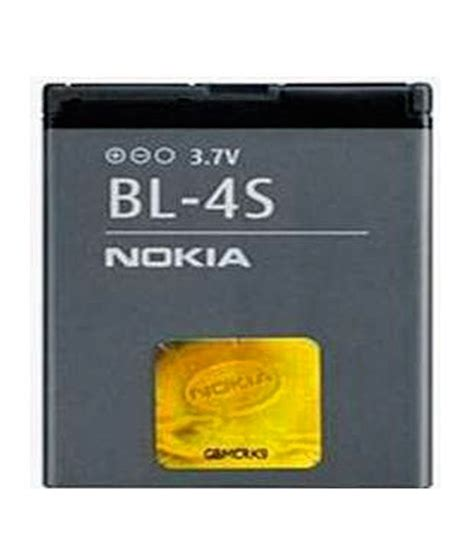 Batrey Nokia Bl 4s Kw nokia battery bl 4s buy nokia battery bl 4s at