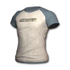 Raglan Dota2 raglan t shirt blue white 绝地求生饰品交易 网易buff