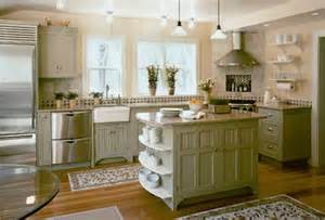Green Kitchen Cabinets Painted by Home Dzine Kitchen A Painted Kitchen
