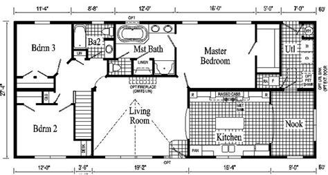 ranch style open floor plan modular prow ranch tlc open ranch style floor plans hanover ranch style modular