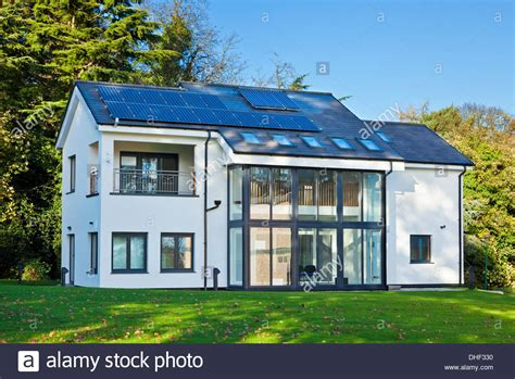 eco house mark group research house eco house in the creative energy homes area stock photo