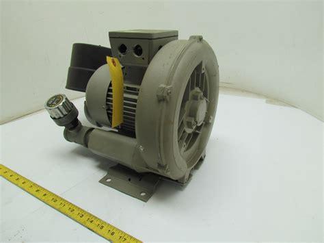 siemens gas ring vacuum compressor single stage w pressure blower kit 1 47hp 3ph