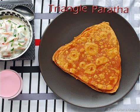 cbell kitchen recipe ideas triangle paratha recipe triangle roti recipe lunch box