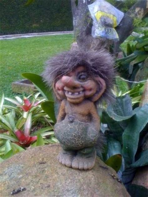 Garden Troll by Charged After Fiery Argument Whether Earth Is