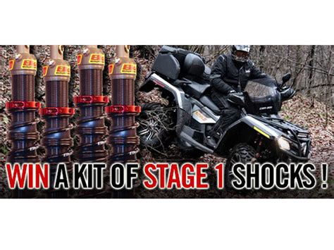 Atv Giveaway - 2015 2015 elka suspension stage 1 shocks sweepstakes giveaway for your utility atv