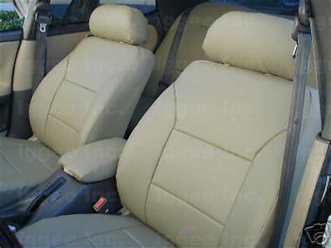 lexus is250 rear seat covers lexus es300 1992 2001 leather like custom seat cover ebay