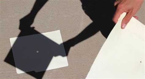 How To Make A Pinhole With Paper - how to build a diy pinhole projector to safely view the