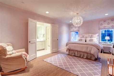 purple pink bedroom pink and purple girl bedroom transitional girl s room