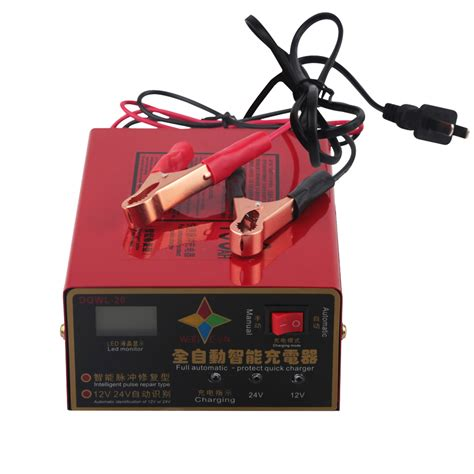 Souer 12v 10 A Automatic Car Battery Charger Ma 1210a 10a 6 105ah lead acid battery charger motorcycle car