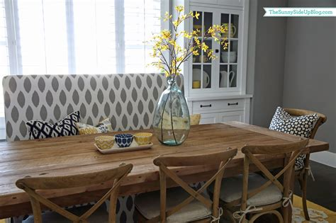 Dining Room Corner Bench by Summer Dining Table Decor The Sunny Side Up Blog