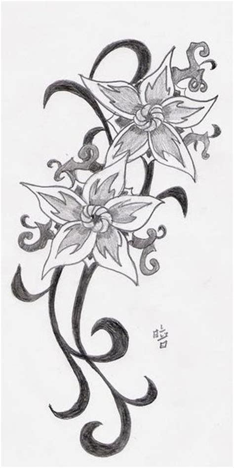 Tattoovorlagen Blumen Und Sterne 5100 by Tattoovorlagen Blumen Tribal Motive Bilder Motive