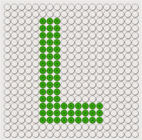 kralenplank letters het alfabet