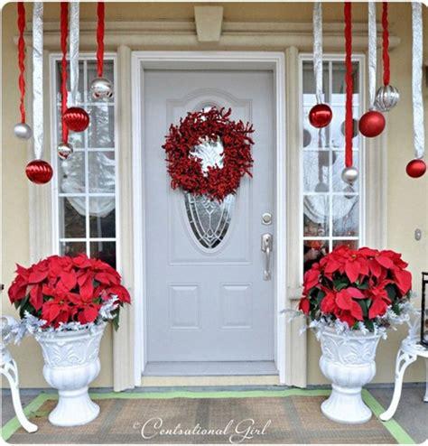 front door christmas decorations 15 sensational christmas front door decor with lovely red
