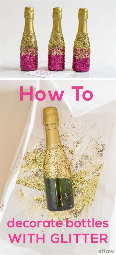 How To Decorate A Bottle With Glitter by 155 Best Images About Three Day On Green