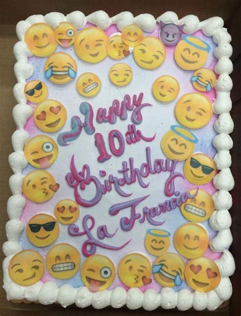 emoji birthday cake 143 best girls decorated cakes images on pinterest