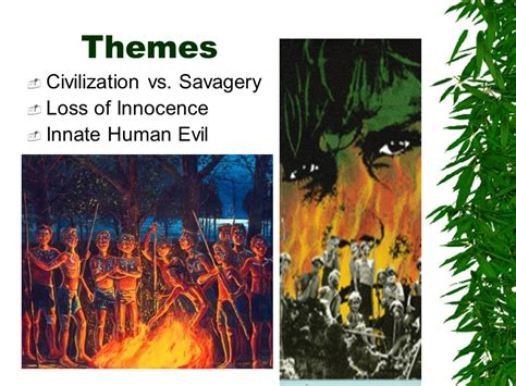 lord of the flies savage theme lord of the flies william golding ppt video online download