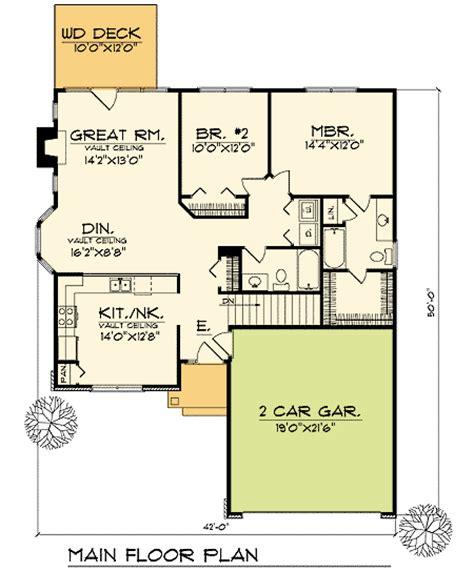 functional floor plans functional compact home plan 89298ah 1st floor master
