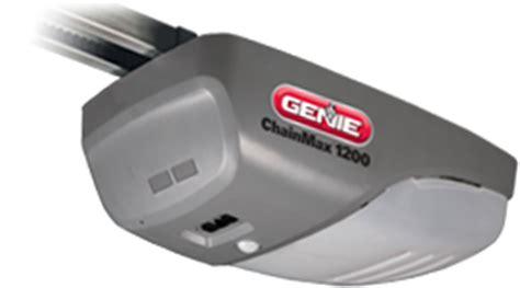 Genie Chainmax 1200 Garage Door Opener Genie 1200 Garage Door Opener