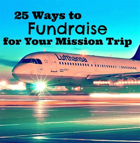 Sle Letter To Raise Money For Mission Trip pilgrim journeys 25 ways to fundraise for your mission trip
