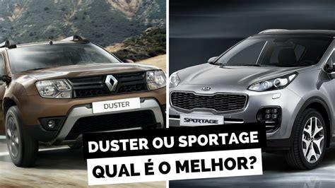 Kia Duster Novo Renault Duster Ou Kia Sportage 2018 Comparativo