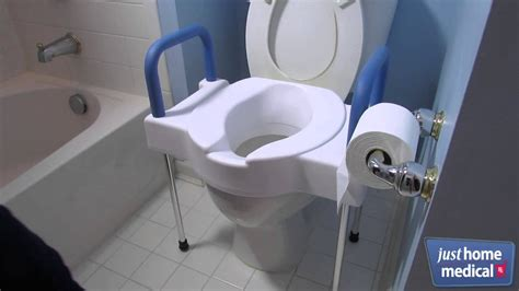home medical extra wide tall ette elevated toilet
