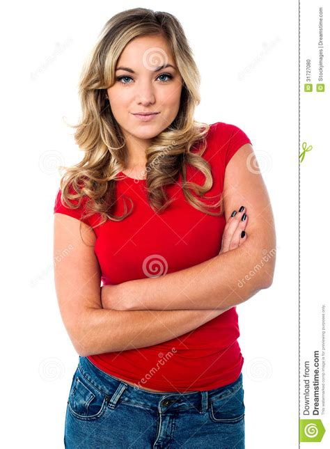 stylish quates poses girlz sexy blonde girl in trendy outfit stock photo image
