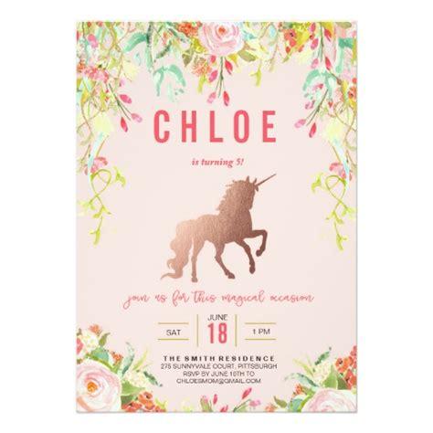 unicorn birthday card template magical unicorn birthday invitation ladyprints