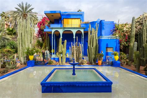 garten yves laurent marrakech morocco has a new museum dedicated to yves laurent