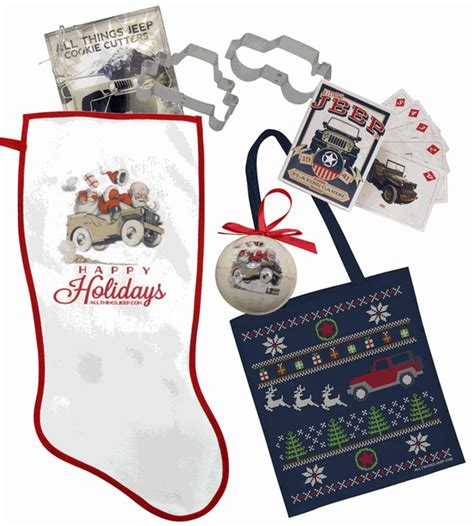 All Things Jeep Stocking Stuffer Gift Set