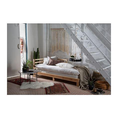 ikea tarva daybed with mattress in erdington west tarva day bed with 2 mattresses pine moshult firm 80x200