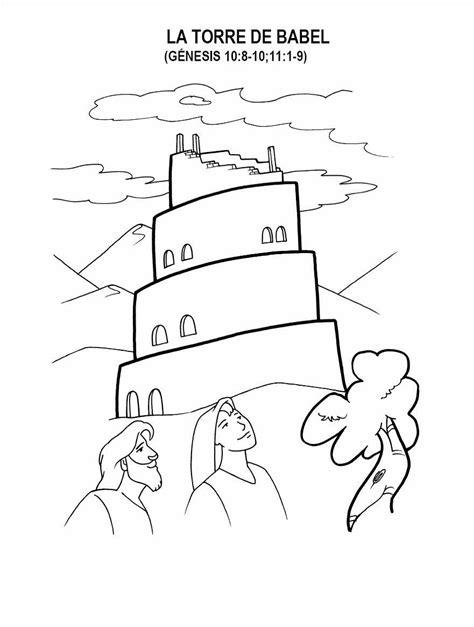 Imagenes Para Colorear Torre De Babel | imagenes cristianas para colorear dibujos para colorear