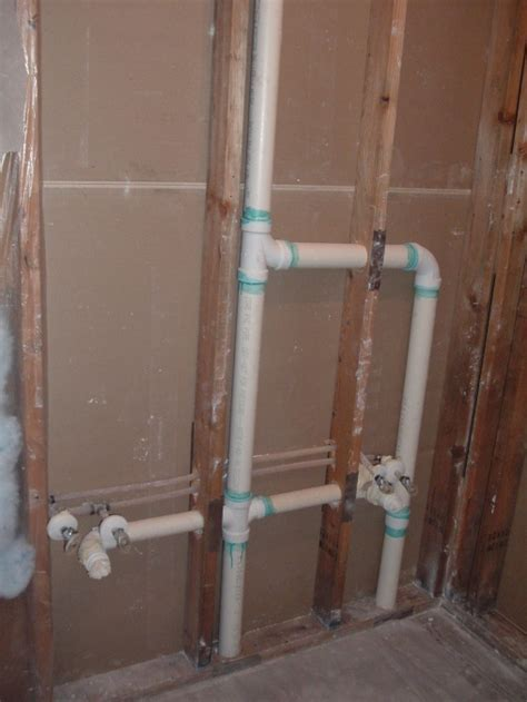 Vent Pipe In The Way Of Wall mount Faucet   Plumbing   DIY
