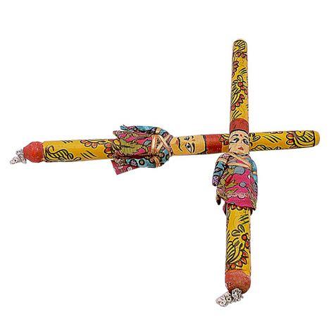 Dandiya Decoration Images by Groom Raja Rani Style Fancy Dandiya Sticks