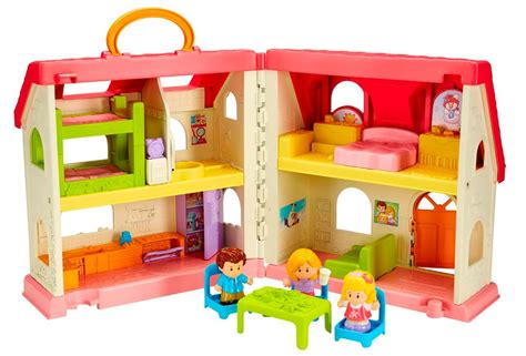 fisher price little people house amazon com fisher price little people surprise sounds home toys games