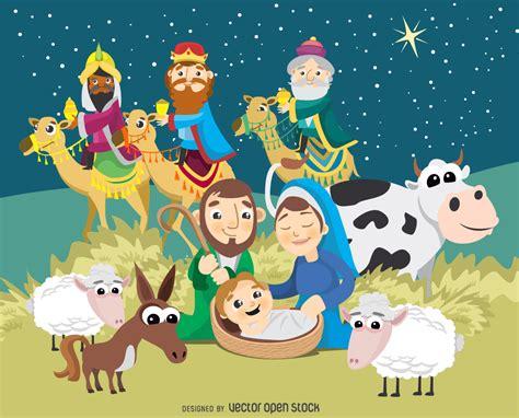 imagenes del nacimiento de jesus infantiles natividad de la navidad escena del nacimiento de