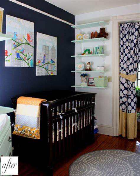 Navy And White Nursery Inspiration Navy Nursery Decor
