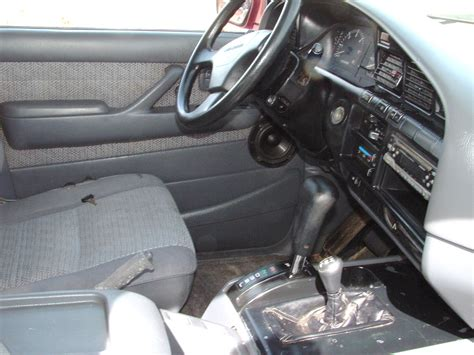 land cruiser interior 1991 toyota land cruiser image 7