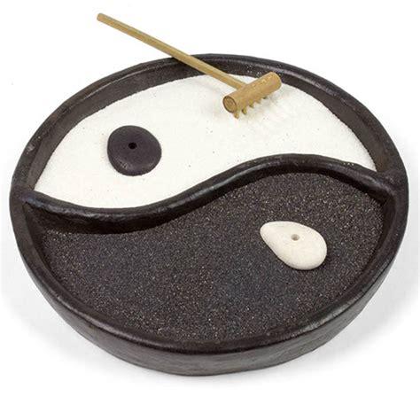 yin yang garten fair trade ceramic yin yang zen garden set meditation from