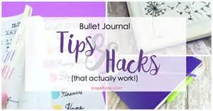 journal hacks bullet journal hacks that actually work page flutter
