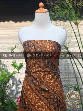 Kemeja Lengan Pendek Gunung Sogan jual kain batik motif parang seling kembang