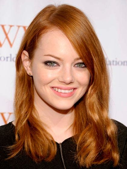 emma stone ginger makeup for dark red hair pale skin mugeek vidalondon